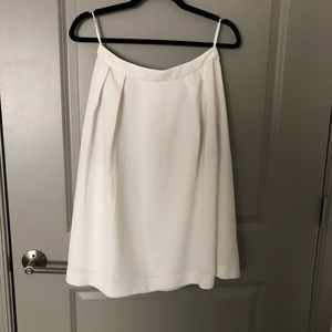 White A-line skirt Uniqlo Medium with pockets